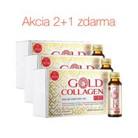 GOLD COLLAGEN FORTE kolagénový výživový doplnok 2+1 zdarma 30ks