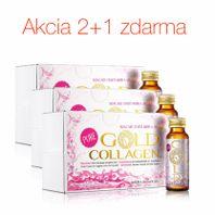 GOLD COLLAGEN PURE kolagénový výživový doplnok 2+1 zdarma 30ks