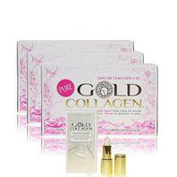 GOLD COLLAGEN PURE kolagénový výživový doplnok 30ks + darček
